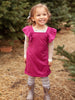Vivi Dress in Raspberry ~ Baby