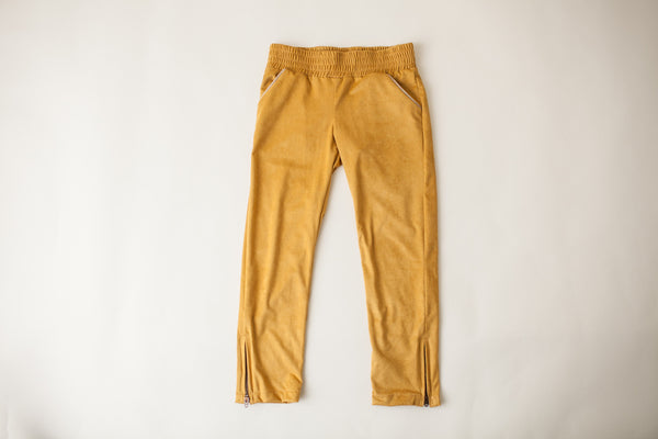 Riding Trousers in Mustard