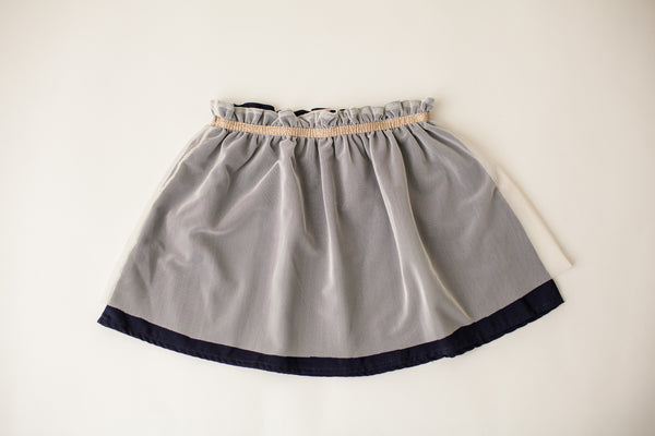 Magic Mirror Skirt in Navy