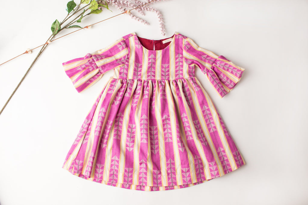 Lily Dress in Berry