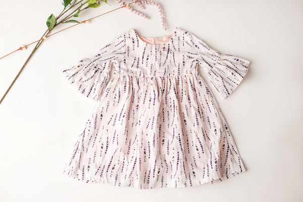 Lily Dress in Feather