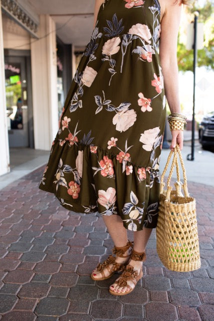 Liz Dress in Floral