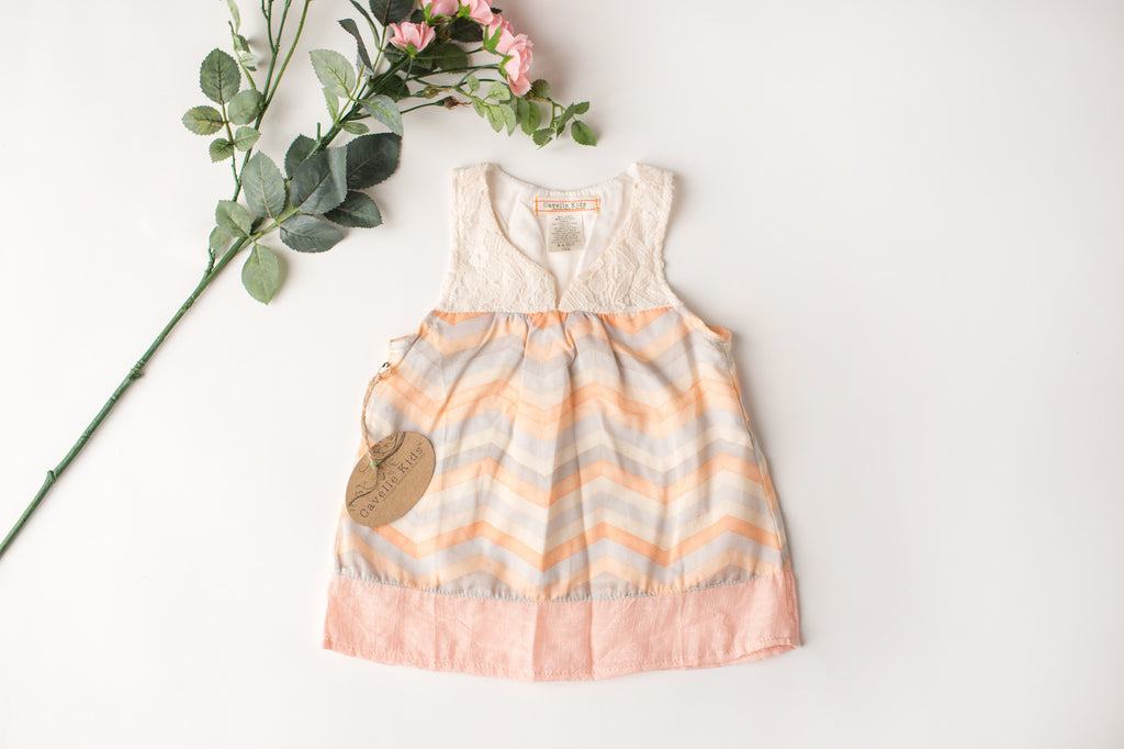 Soft Swing Tank in Peach