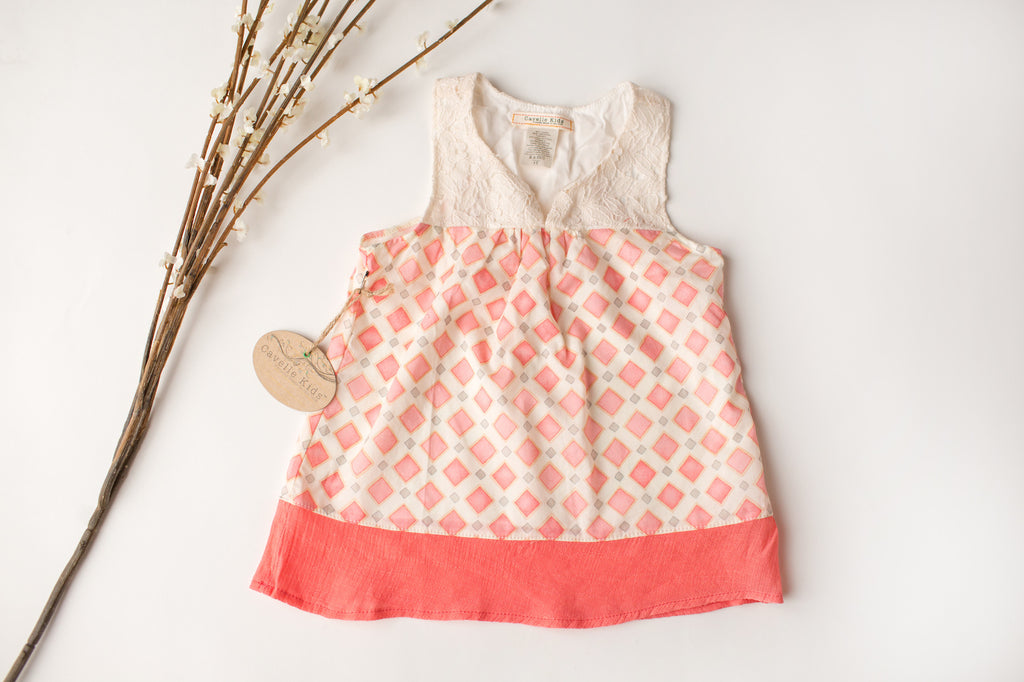 Soft Swing Tank in Coral