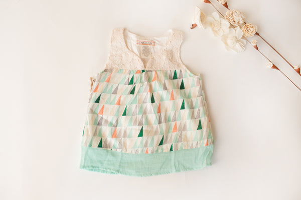 Soft Swing Tank in Mint