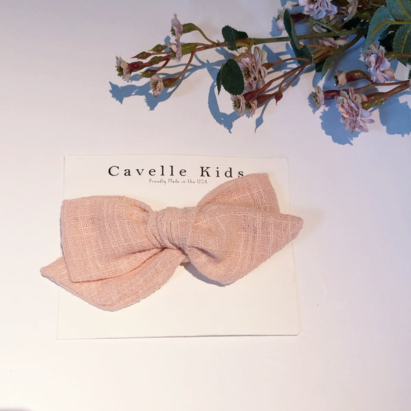 Clip Fabric Bow