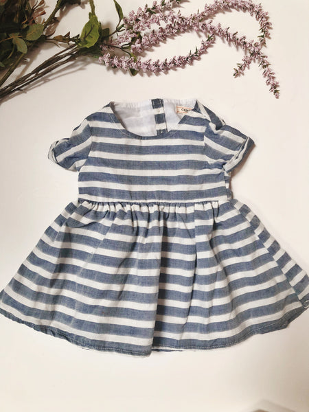 Emmy Dress in Stripe ~ Baby