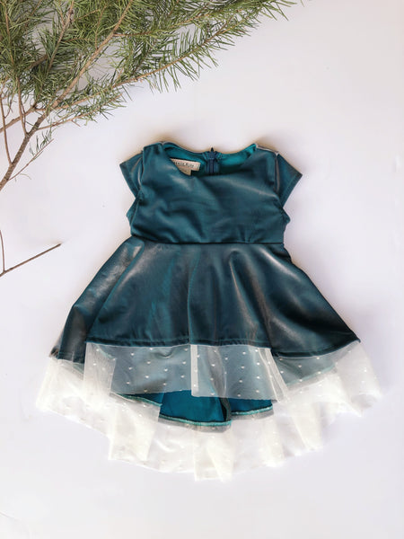 Taylor Dress in Peacock ~ Baby