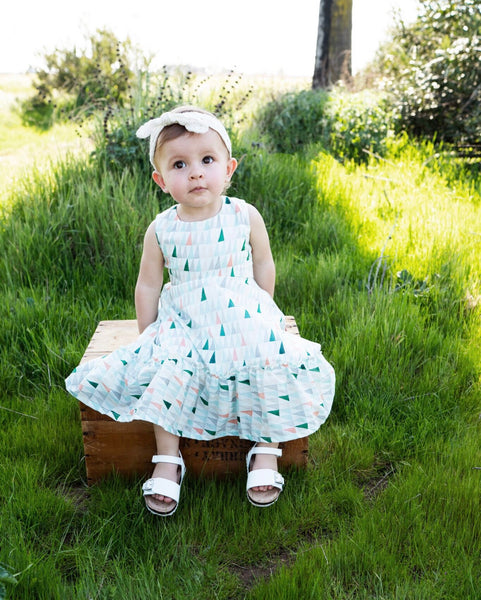 Elizabeth Dress in Geo ~ Baby