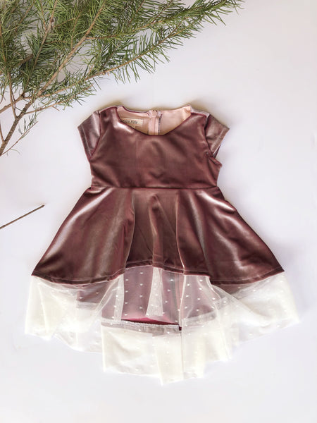 Taylor Dress in Sunset ~ Baby