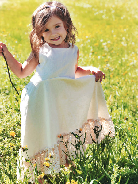 Elizabeth Dress in Ivory ~ Baby