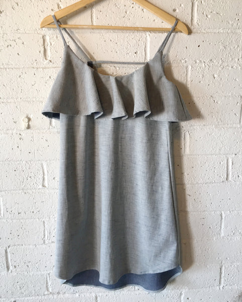 Esther Dress in Chambray