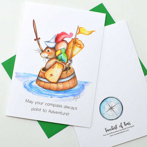 Greeting Cards by Sweetest of Peas