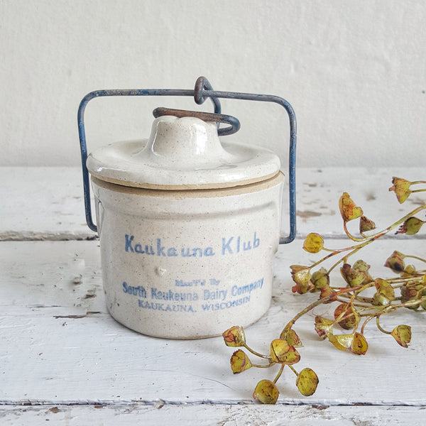 Vintage Cheese Crock