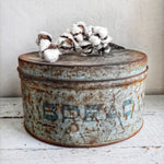 Vintage Metal Bread Tin