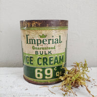 Vintage Ice Cream Tin