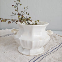 Antique Ironstone Sugar Dish