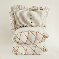 Ticking Pillow Bundle - Grey