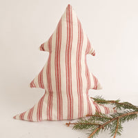 French Ticking Tree Pillow