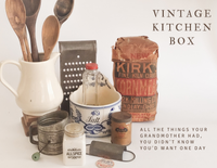 Vintage Kitchen Box - Limited Edition