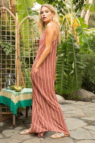 PIPPA STRIPED MAXI