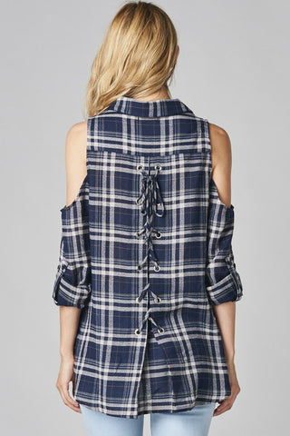 LACE IT UP! PLAID