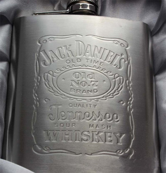 7oz Stainless Steel Hip Flask with Box