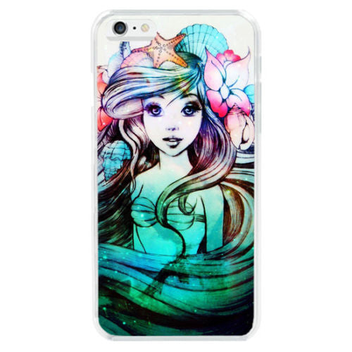 Colorful Ariel Case iPhone 4 6 6S Plus 5S SE S6