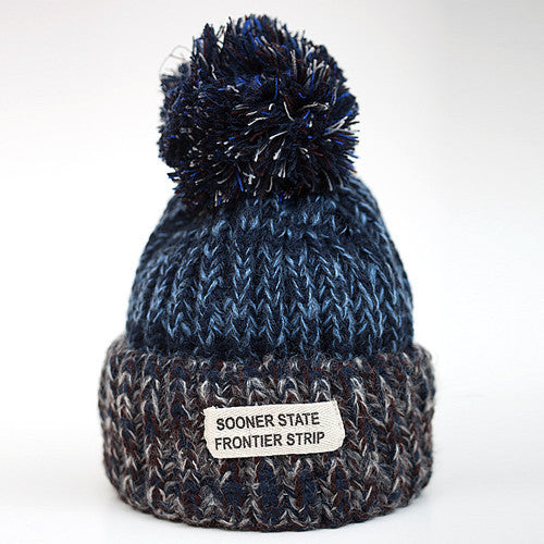 Woolen Winter Hats Knitted Fur Cap
