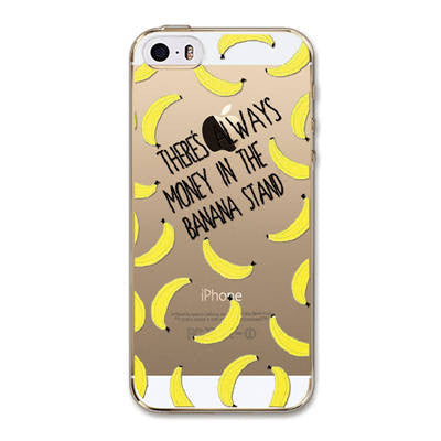 Painted  Flowers Fruits Girls For Apple iPhone 5 5S SE Case