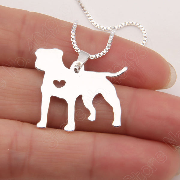 Pit Bull Necklace Pendant