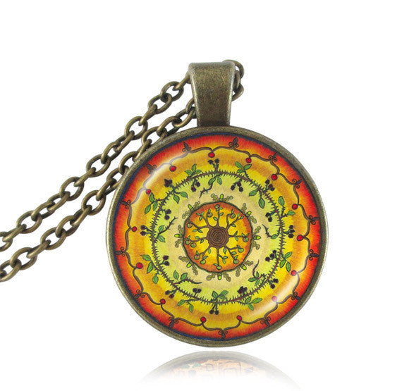 Glowing Chakra Necklace
