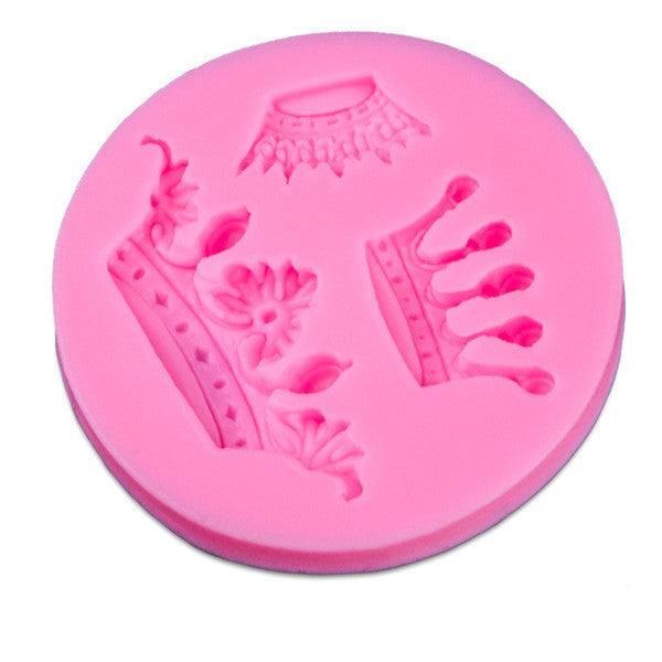 Silicone Crown Shaped Baking Mold