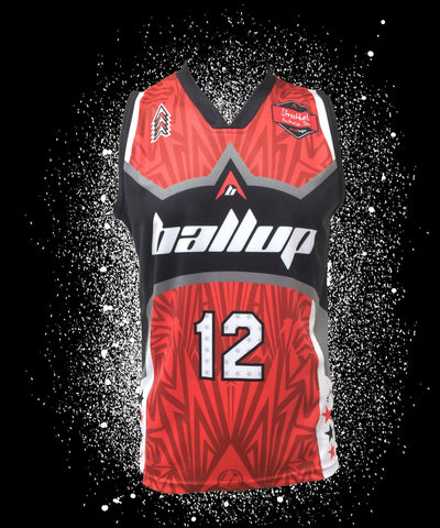 Ball Up Red/Black Player Jersey