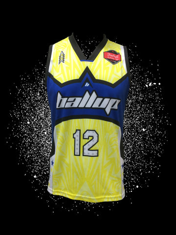 Ball Up Yellow/Blue Professor Jersey