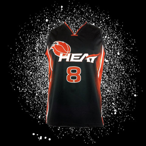 "Heat Sublimated Jersey <br> <B><font color=""red"">OFF THE SHELF</font></B>"