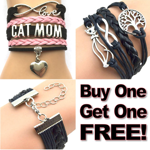 Cat Love Infinity Bracelet BUY ONE GET ONE FREE!
