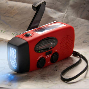 Emergency Self Powered Flashlight/ Radio/ Phone Charger