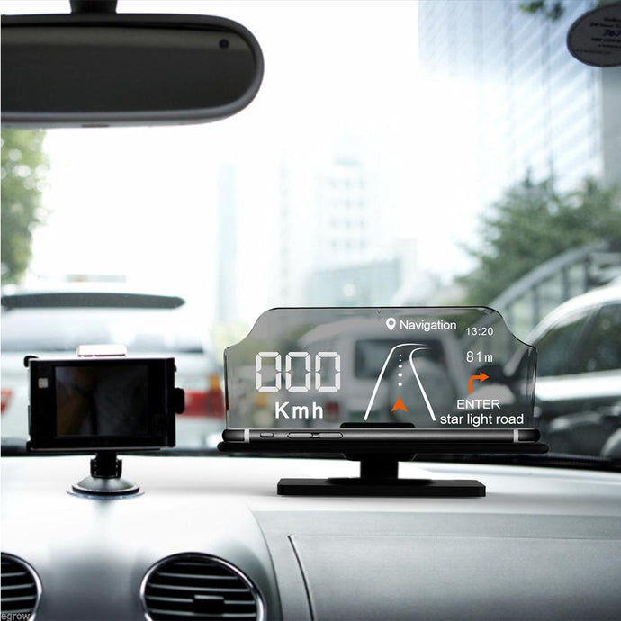 Hands Free Hologram GPS Projector