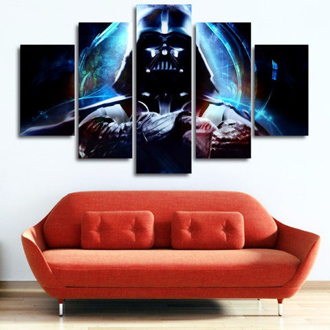 Darth Vader Art Painting On Canvas