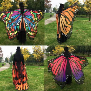 Brilliant Butterfly Wing Cape