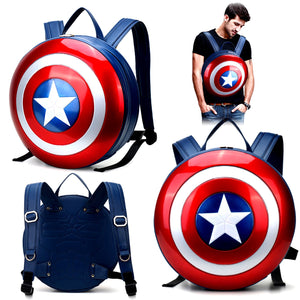 Captain America Hard Shield Backpack