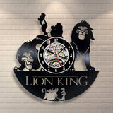 Lion King Vinyl Record Clock