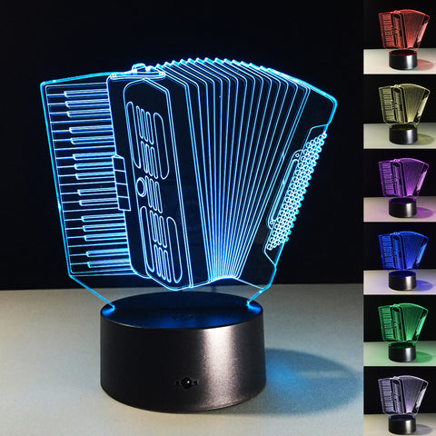 3D Illusion Accordion Lamp