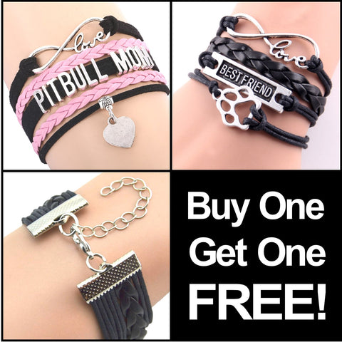 Pit Bull Love Infinity Bracelet BUY ONE GET ONE FREE