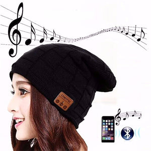 Bluetooth Wireless Earphone Beanie