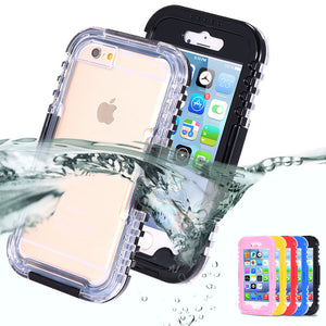 Heavy Duty Waterproof Case For Apple iPhone
