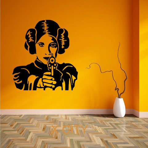 Beautiful Princess Leia Removable Mural