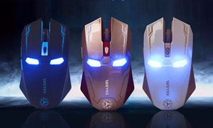 High Performance Iron Man WiFi Gaming Mouse
