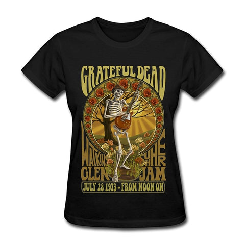 Women's Grateful Dead T-Shirt-Black